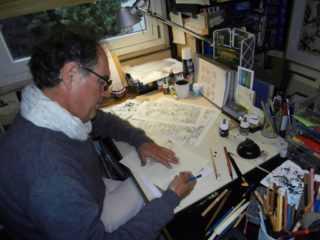 Blake et Mortimer : pour Le serment des cinq lords une rencontre avec André Juillard
