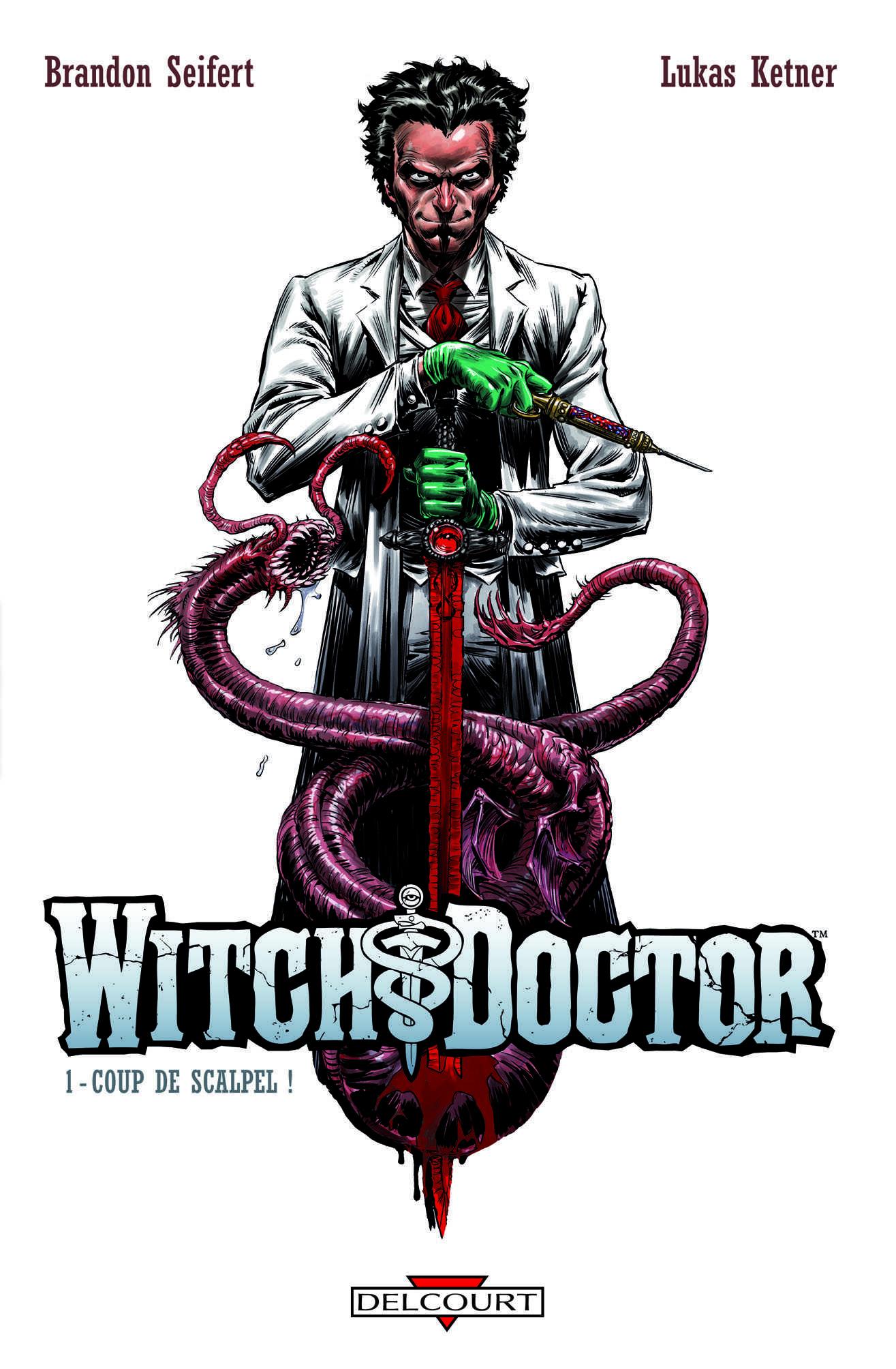 Witch Doctor et The Crow, un duo de comics à faire frémir