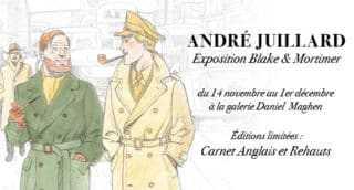 A l'occasion de la sortie du nouveau Blake et Mortimer, André Juillard s'expose chez Maghen à Paris