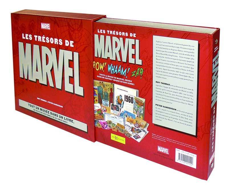 Les Trésors de Marvel, des souvenirs et un superbe ouvrage