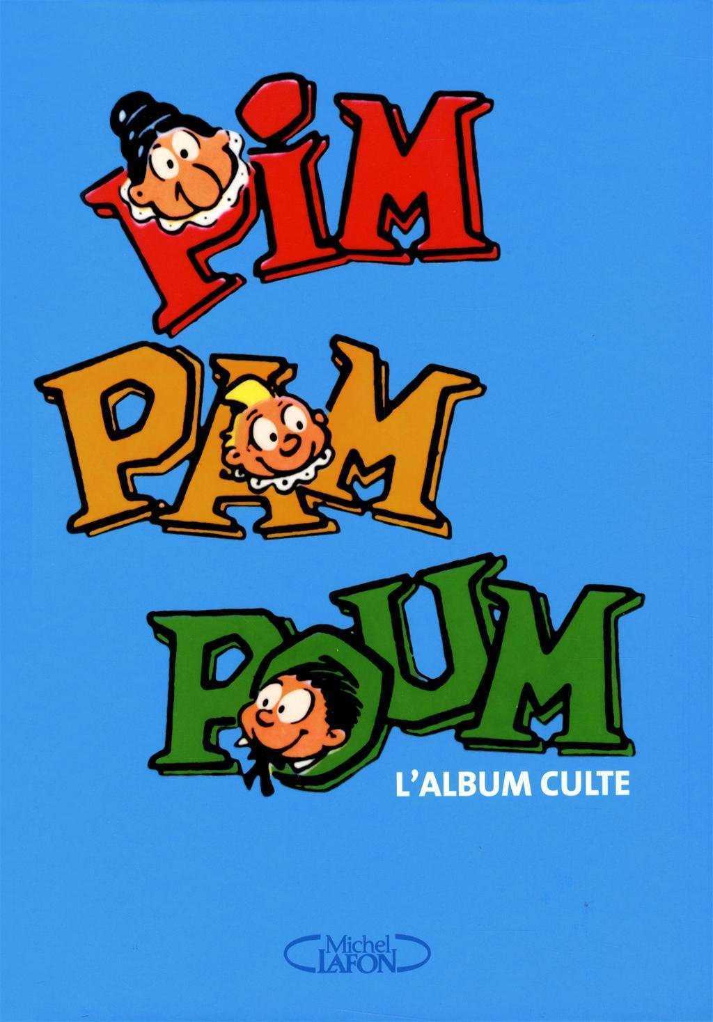 Pim Pam Poum, la plus ancienne des BD s'offre un album souvenir