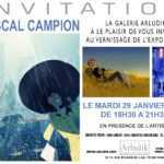 Pascal Campion expose chez Arludik à Paris