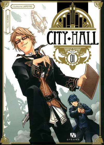 Le Montpelliérain Rémi Guérin et Guillaume Lapeyre prix manga Canal BD avec City Hall chez Ankama
