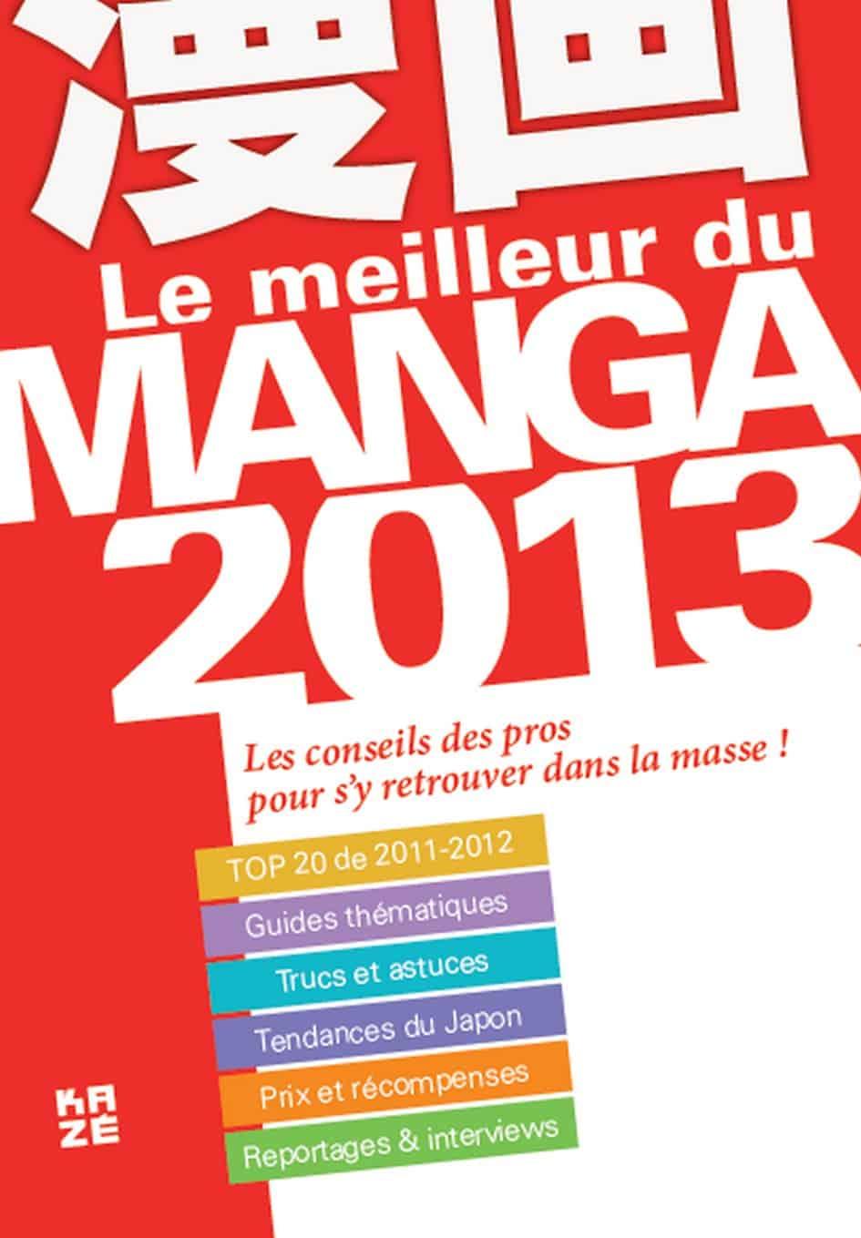 Tout savoir sur les mangas en 2013