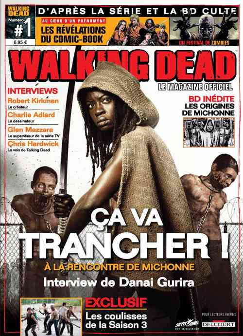 "Walking Dead, le ""mag"" sort en kiosque le 30 janvier"