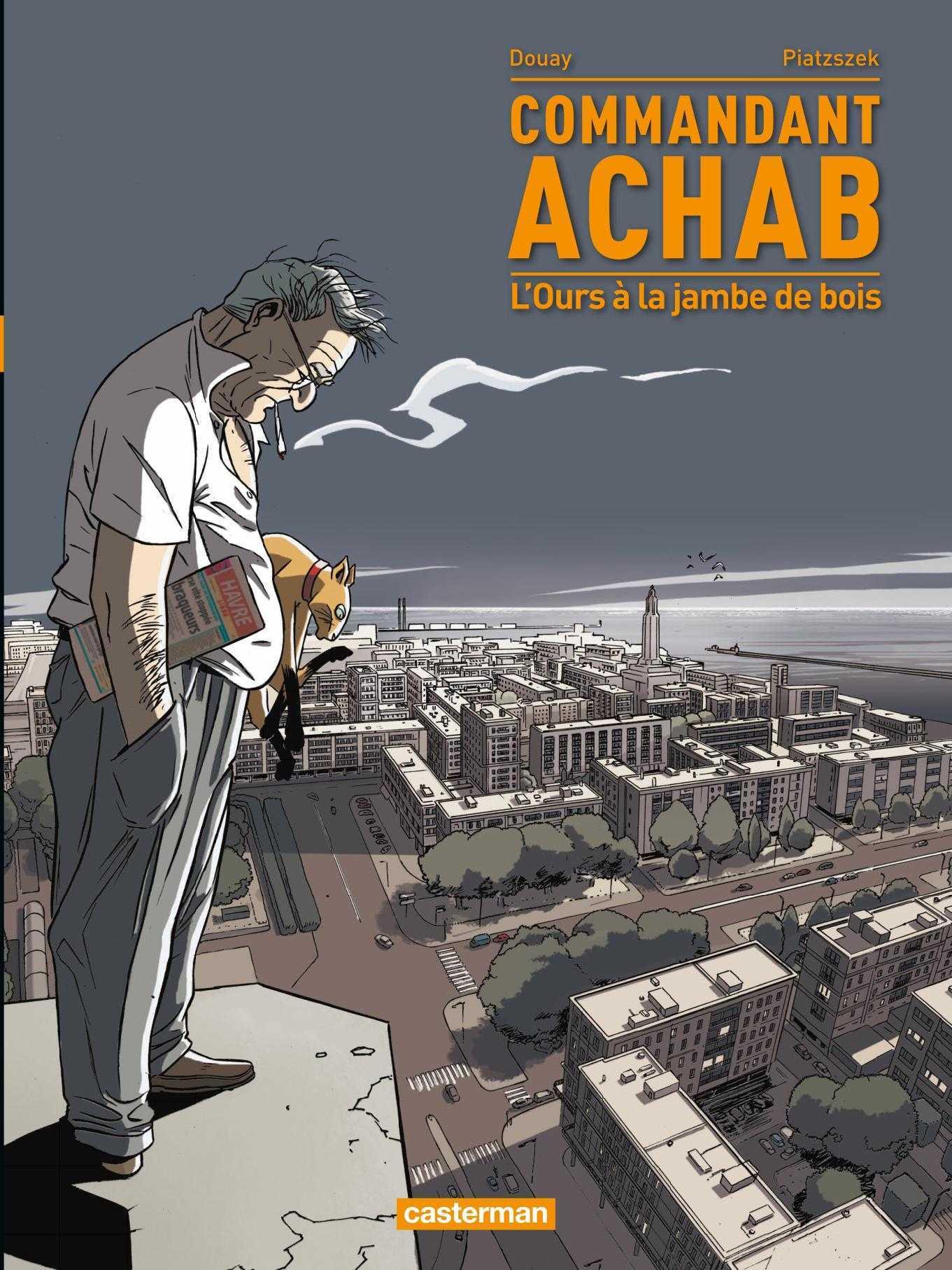 Commandant Achab, meurtres au Havre et piège pour un flic