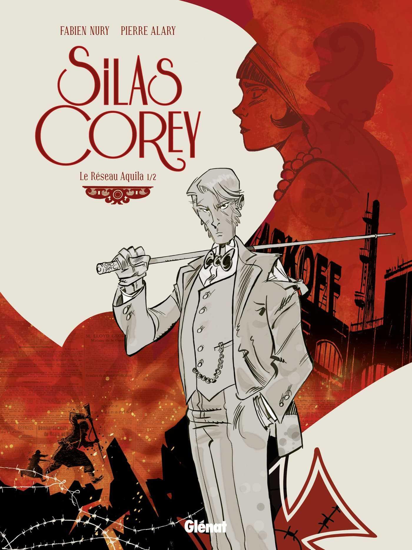 Silas Corey, un privé qui joue sur tous les fronts signé par Nury