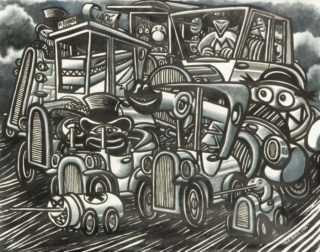 Le Sétois Di Rosa et Druillet vont exposer à Bruxelles en noir et blanc