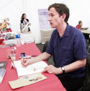 Nicolas Debon au Festival de Sérignan en 2010