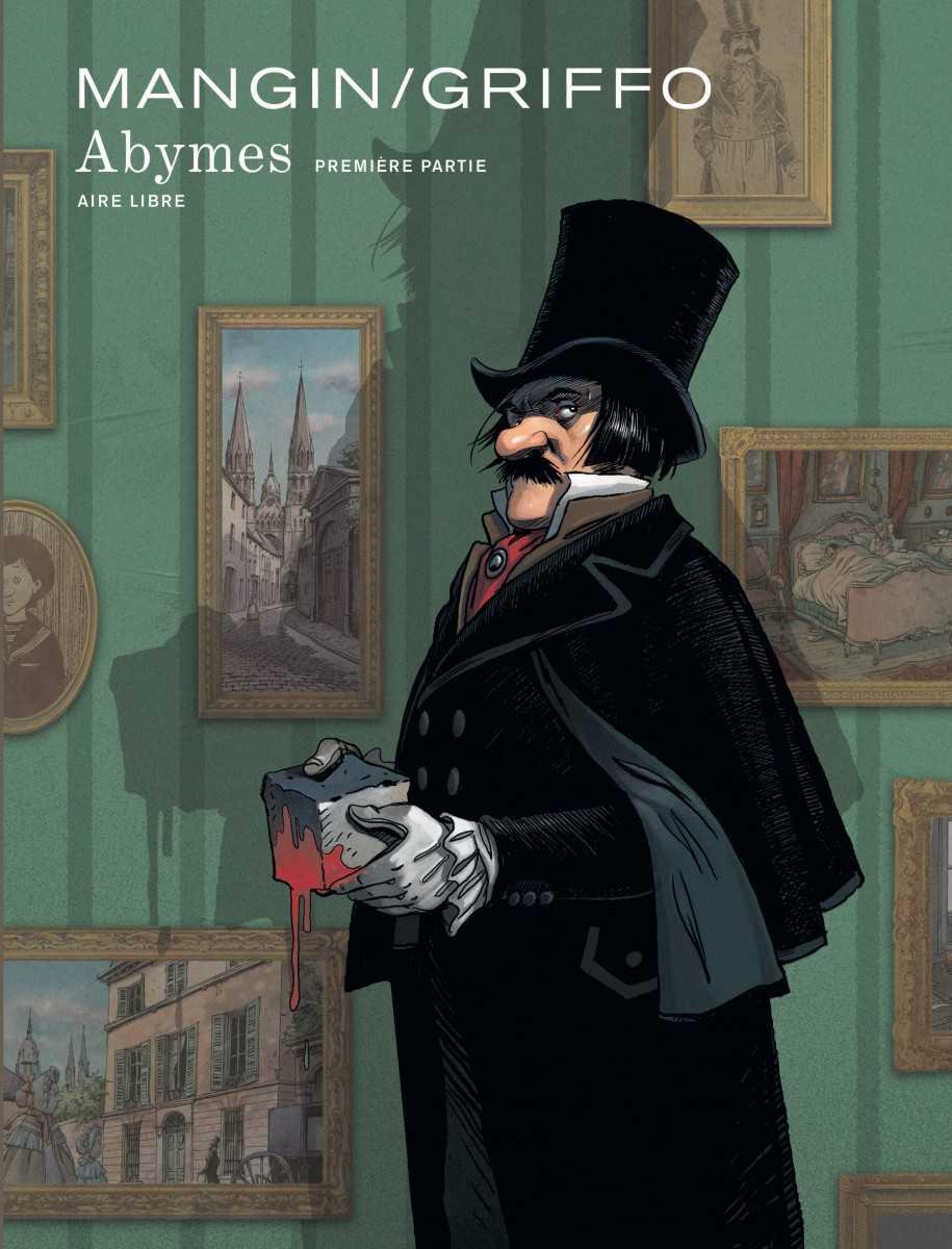 Abymes, et si Balzac était un usurpateur criminel ? Le premier tome d'une trilogie chez Dupuis