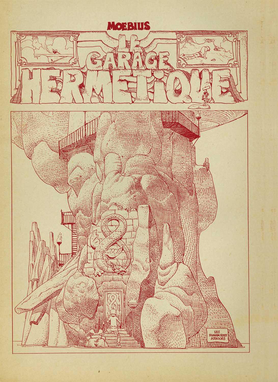 Le Garage Hermétique, un Mœbius tirage de luxe chez les Humanos