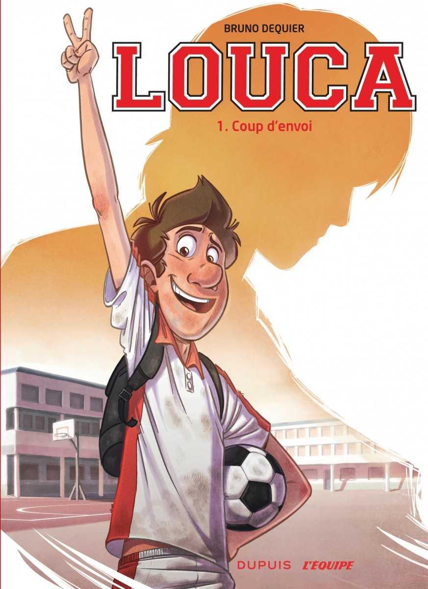 Louca marque des buts chez Dupuis