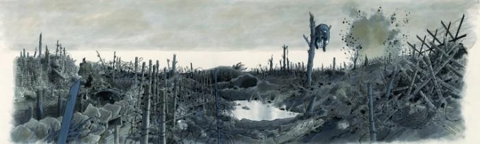La Fresque du Musée de la Grande Guerre du Pays de Meaux