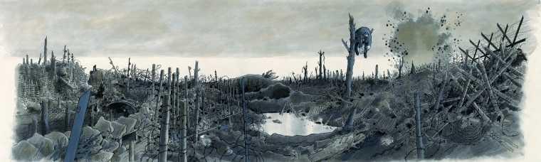 Tardi et Juillard à la Une de la Galerie Oblique à Paris