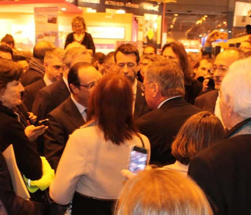 François Hollande et Jacques Glénat