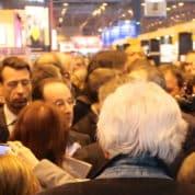 François Hollande au Salon du Livre a parlé aussi bulles et BD