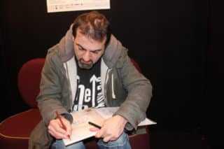 Pierre Alary au dessin