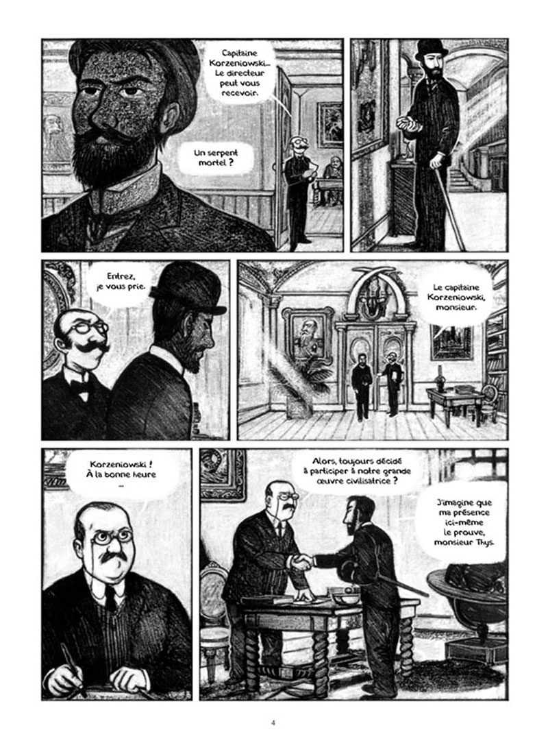 Le ténébreux voyage de Józef Teodor Konrad Korzeniowski