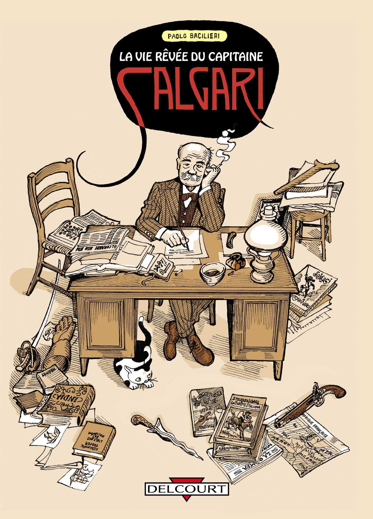 La Vie Rêvée du Capitaine Salgari, un Jules Verne italien au destin tragique