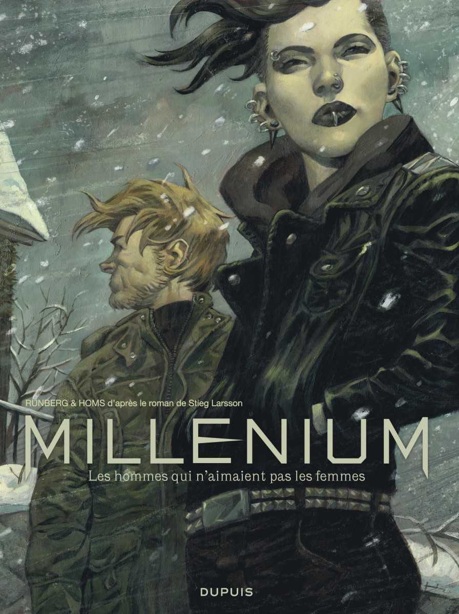 Millénium fait ses débuts chez Dupuis et au Salon du Livre