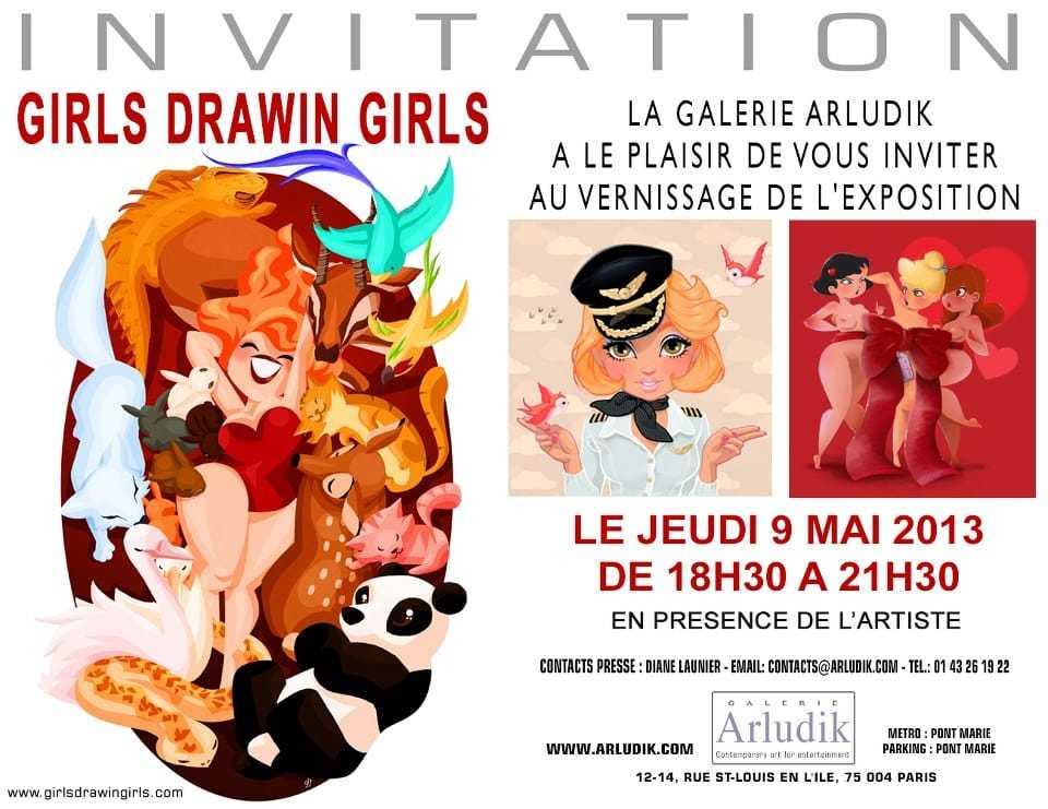 Girls Drawin'Girls avec Melody Severns chez Arludik et Nintendo