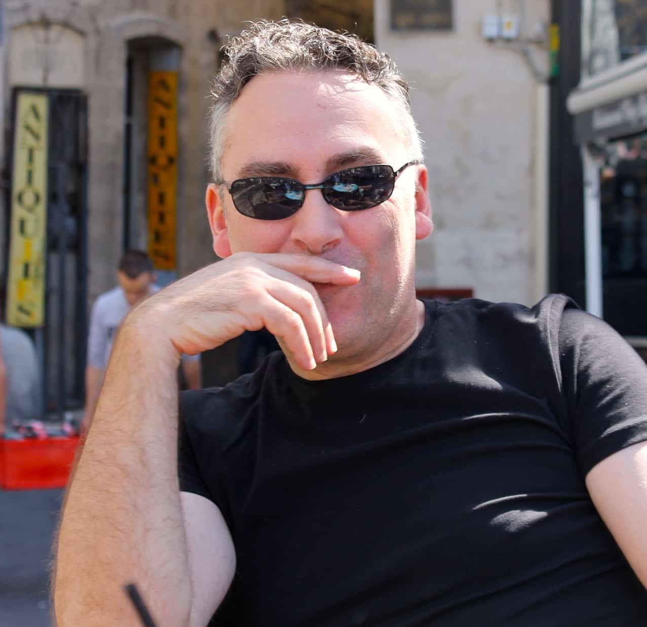 Jim chez Azimuts à Montpellier le 6 décembre avec le tome 2 d'Une Nuit à Rome