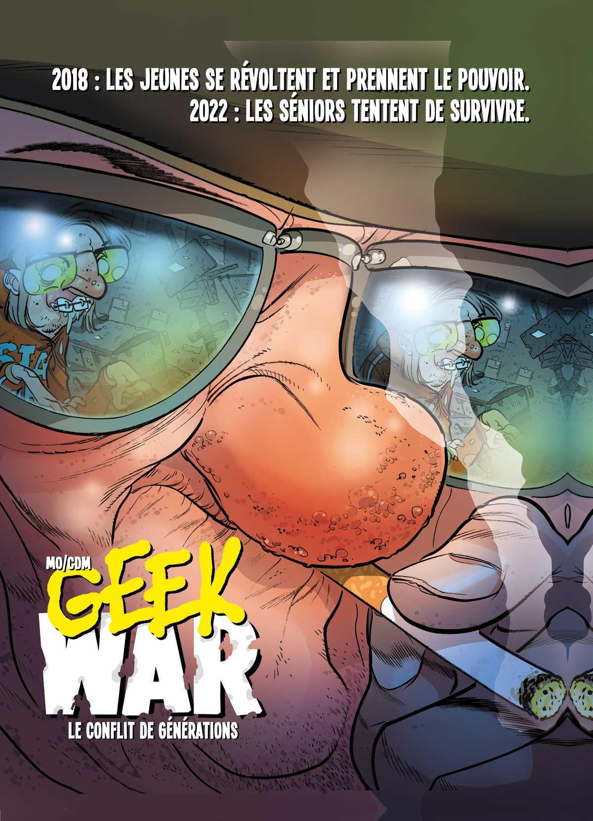 Geek War, les seniors font de la résistance