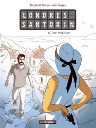 Londres Santorin, un voyage à suspense