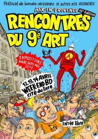Rencontres du 9e Art d'Aix-en-Provence 2013