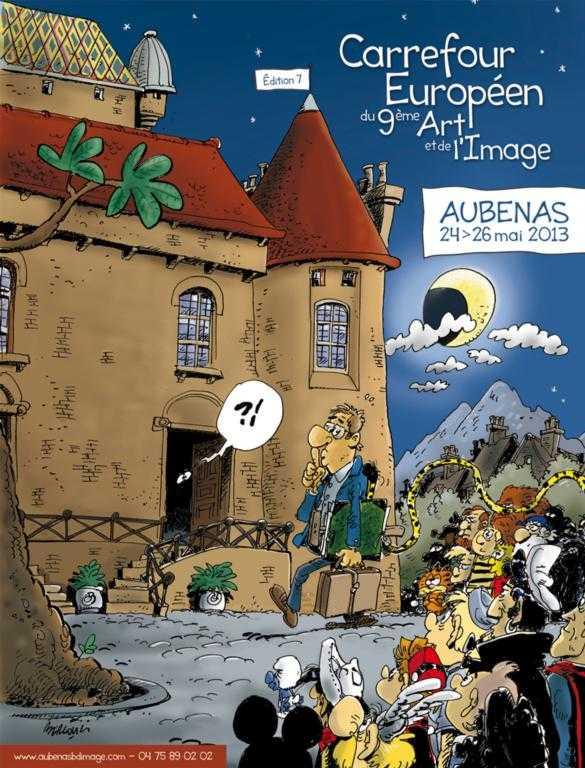 Festival d'Aubenas : 7ème Carrefour Européen du 9ème Art et de l'Image