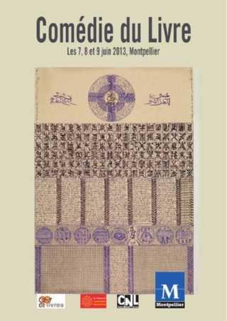Comédie du Livre à Montpellier : Willem grand Prix d'Angoulême 2013 avec une cinquantaine d'auteurs