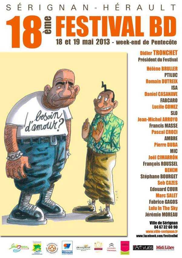 Festival de Sérignan 2013 : c'est parti pour les 18 et 19 mai