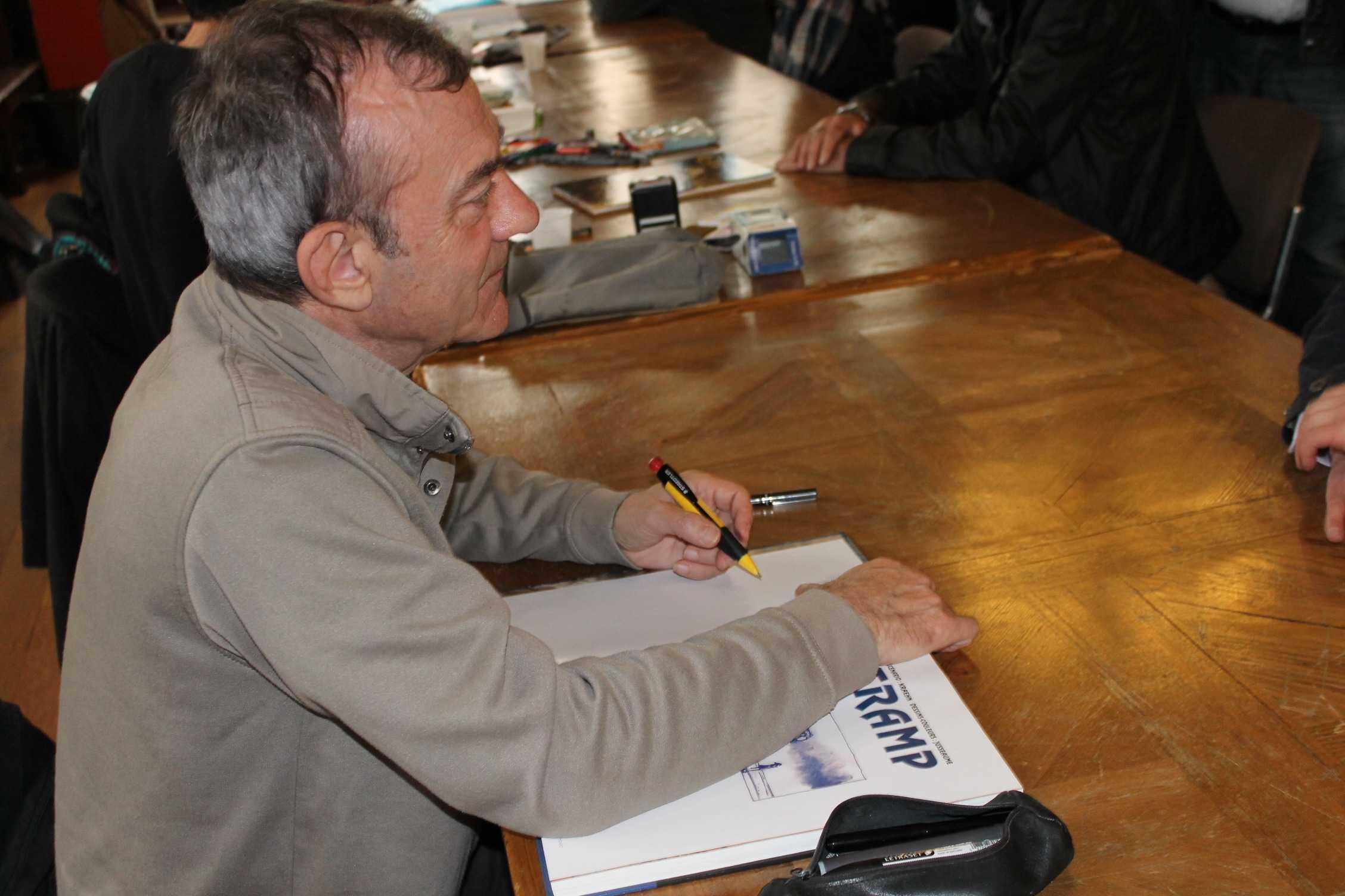 Le dessinateur Patrick Jusseaume pose définitivement son crayon