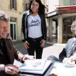 Didier Tronchet, Charlotte Couloumiès et Philippe Mouret