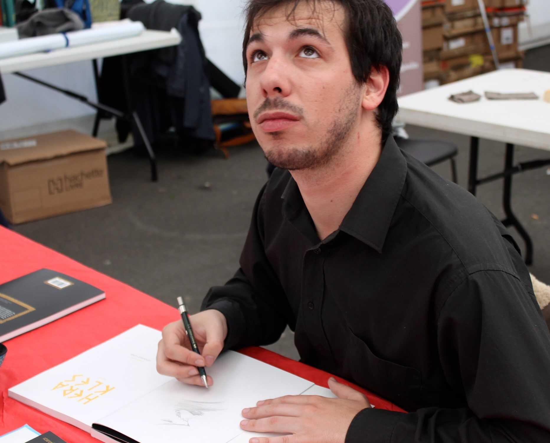 Edouard Cour prix de la ville de Sérignan 2013 pour Héraklès