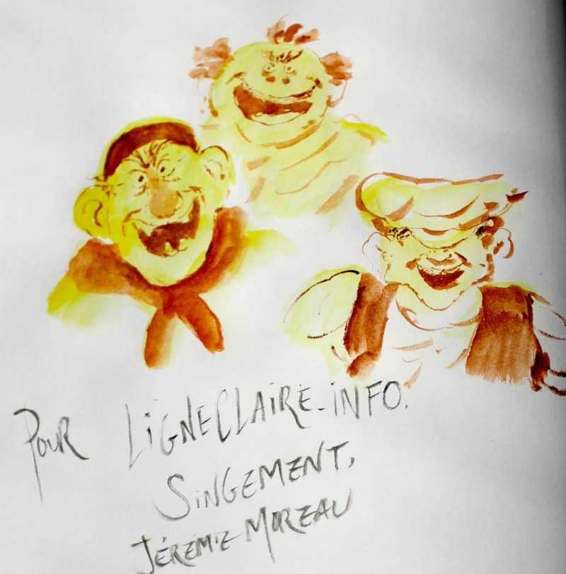 Dédicace de Jérémie Moreau