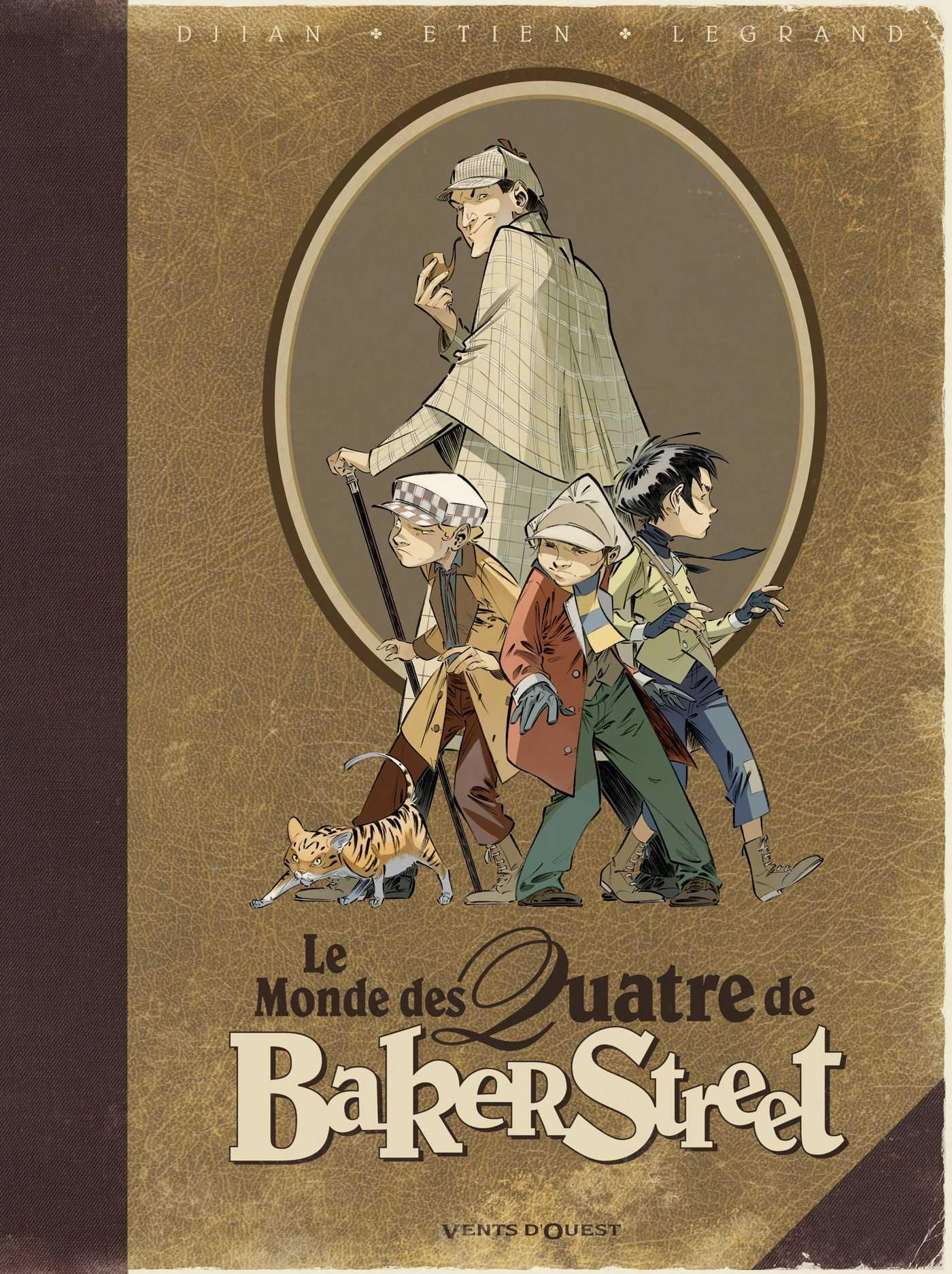 """Le Monde des Quatre de Baker Street, pour tout savoir sur Holmes et ses """"irréguliers"""""""
