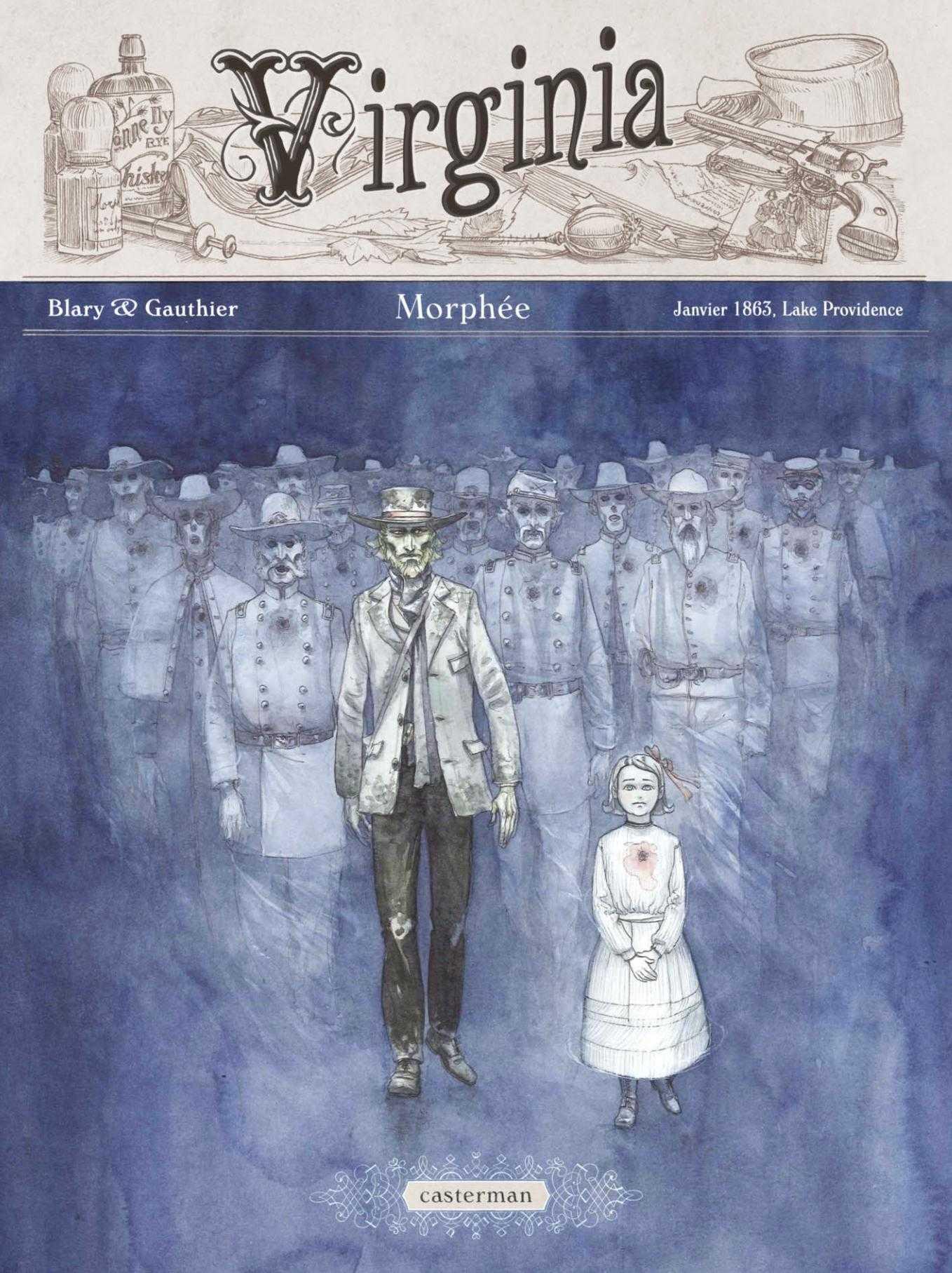 Morphée et les fantômes de Virginia