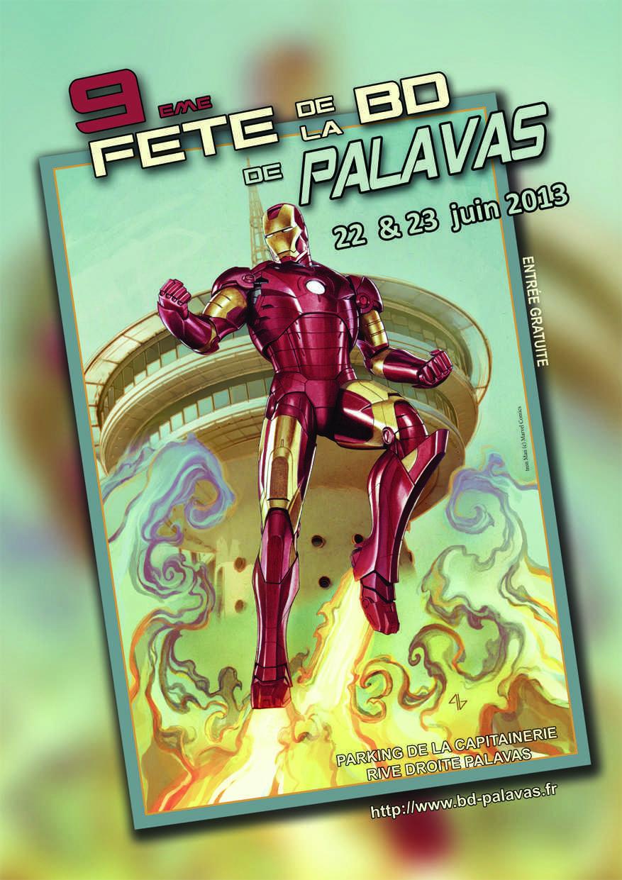 BD à Palavas le 22 et le 23 juin avec Adi Granov, un président roi du comics