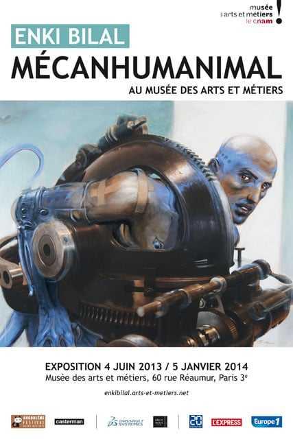 Mécanhumanimal : Enki Bilal aux Arts et Métiers, un dialogue enivrant