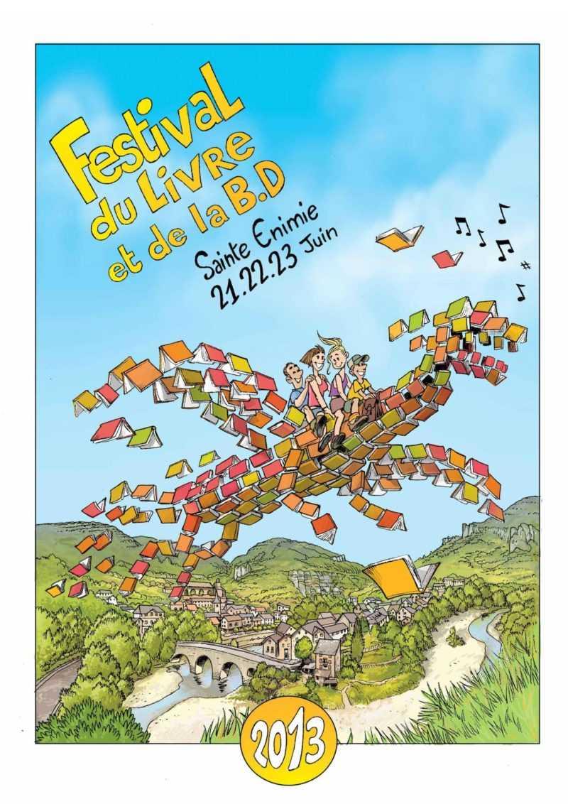 Festival BD de Sainte Enimie 2013