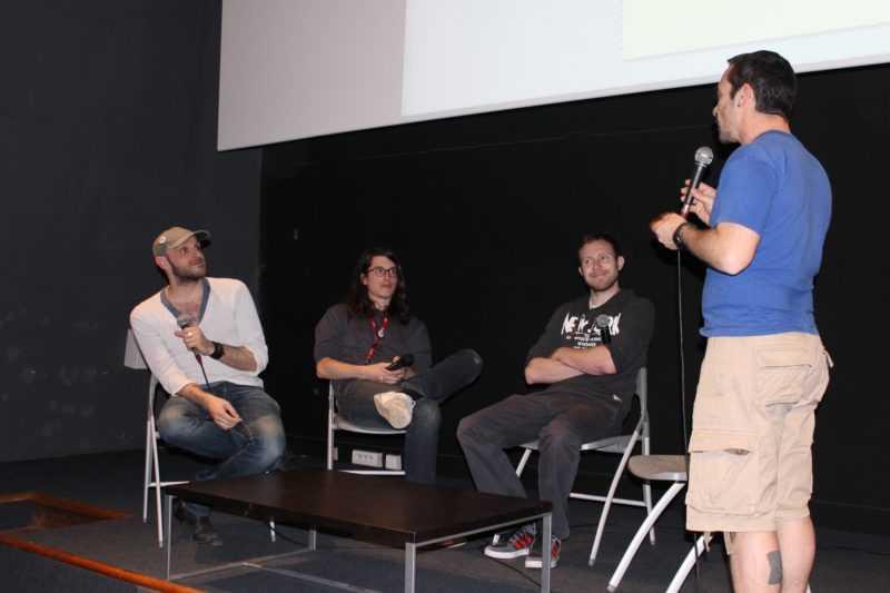 Bastien Vivès, Michaël Sanlaville et Balak