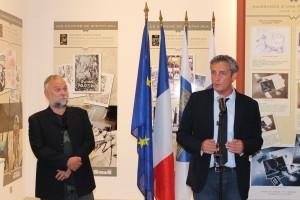Olivier Vatine et Philippe Saurel