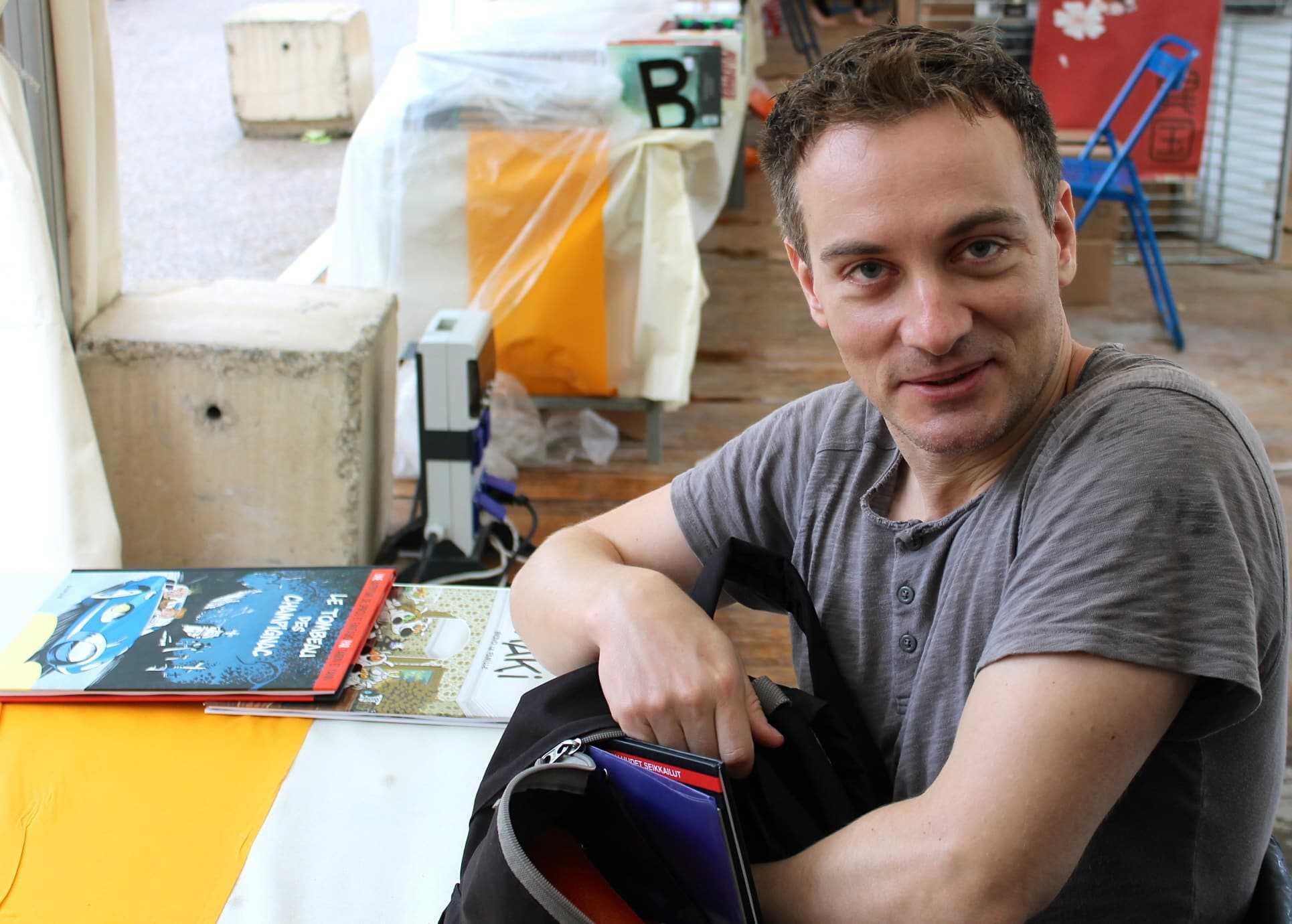 Fabrice Tarrin en dédicace à Narbonne le 8 décembre pour Astérix et le secret de la potion magique
