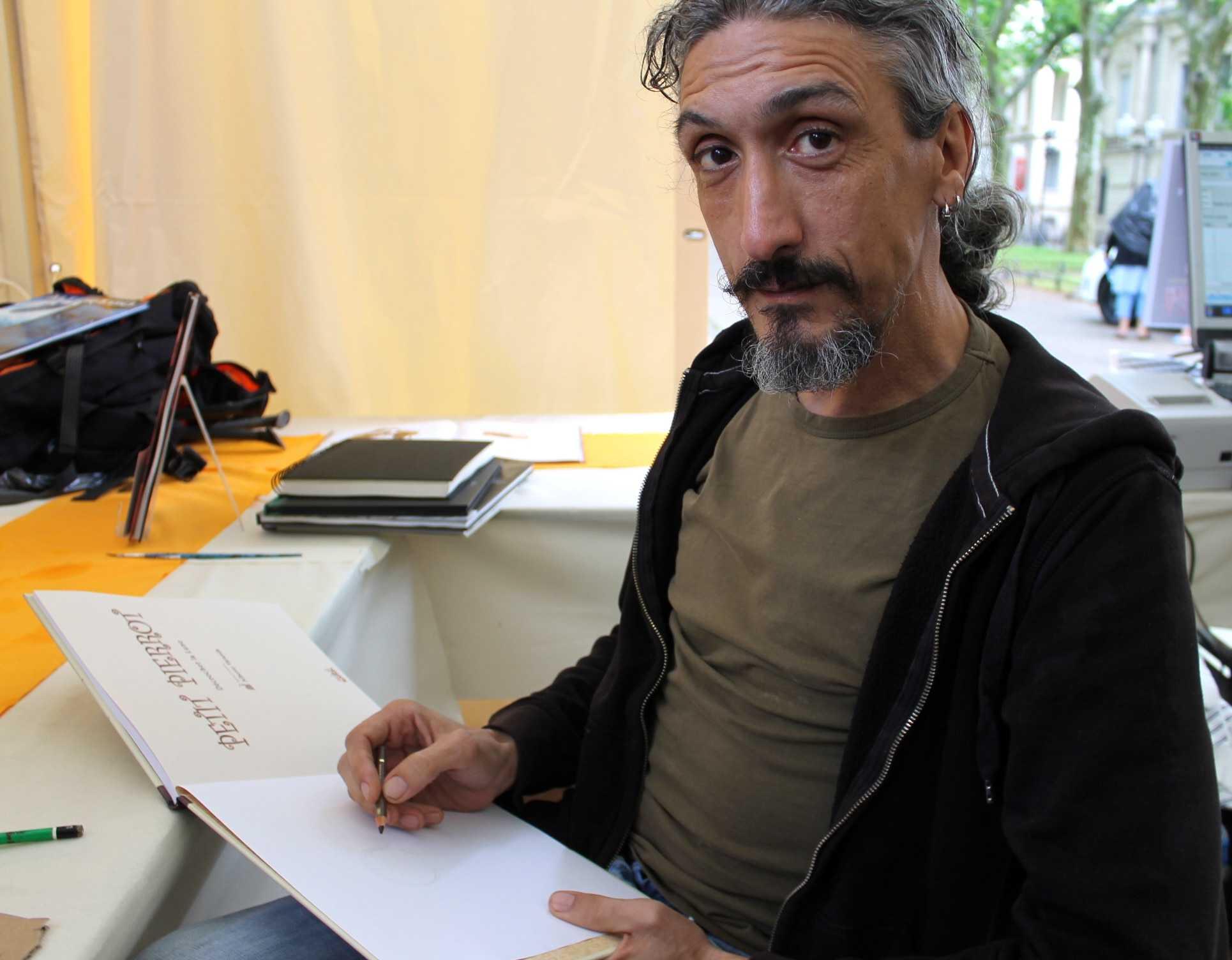 Rencontre : Alberto Varanda, de La Mort Vivante à la tendresse de Petit Pierrot