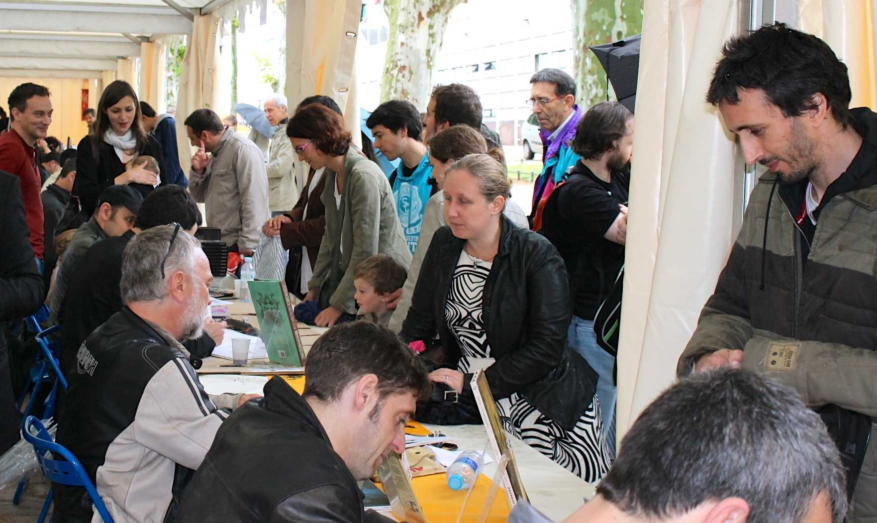 Comédie du Livre 2013 à Montpellier : humide et... convivial