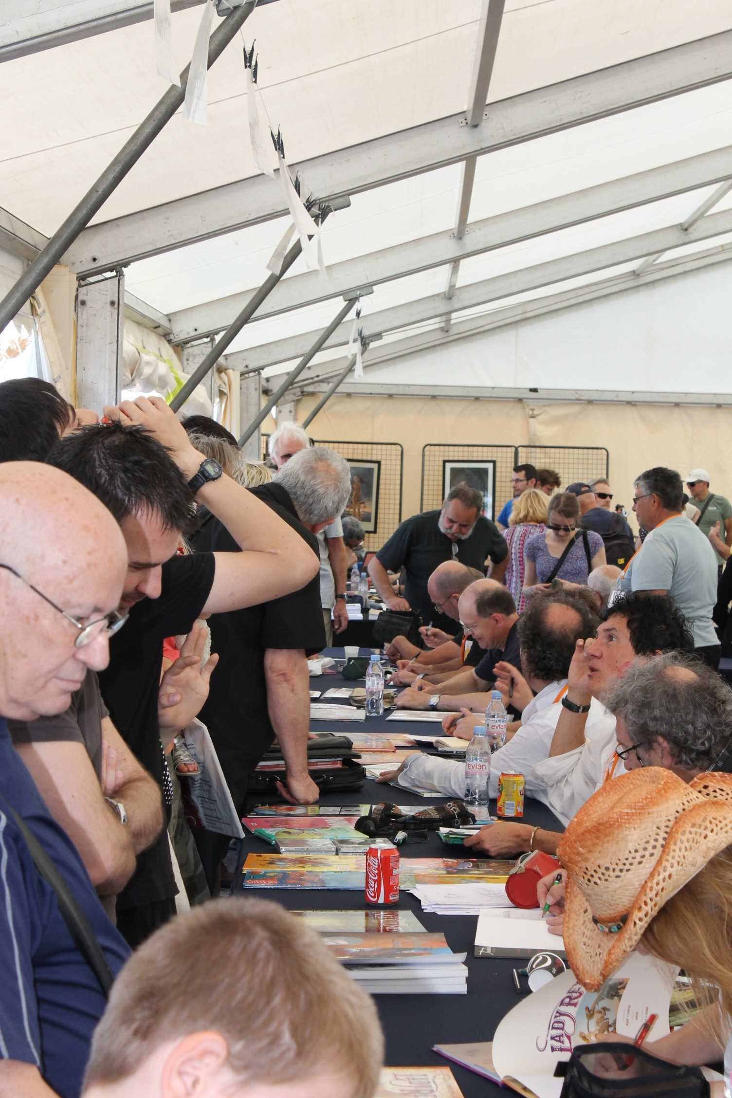 Palavas en images : Fête de la BD, les comics jouent et gagnent
