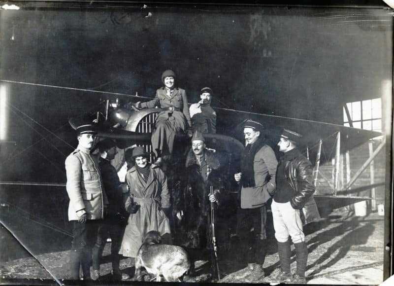 Aviateurs en 1916