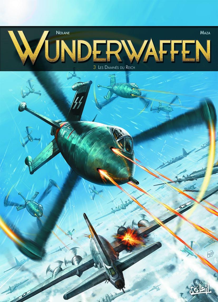 Interview : Nolane scénarise Wunderwaffen, une uchronie très aérienne qui a bien décollé