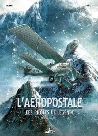 Interview : Avec Guillaumet et l'Aéropostale, Christophe Bec lance une nouvelle collection chez Soleil